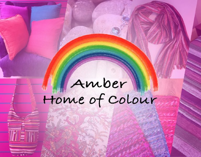 Amber Home of Colour Mobile Banner