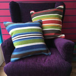 Multi Stripe Cushion