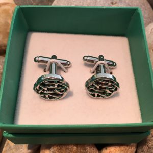 Celtic Knot Cuff Links